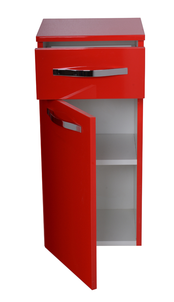 neu modern h ngeschrank universal rot hochglanz direkt vom. Black Bedroom Furniture Sets. Home Design Ideas