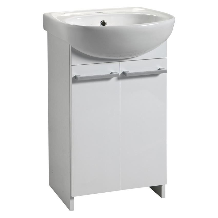 waschbecken mit unterschrank waschtisch badm belset 46 50. Black Bedroom Furniture Sets. Home Design Ideas