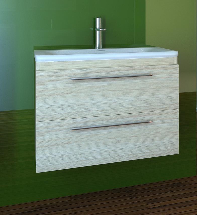 Neu waschbeckenunterschrank mit waschbecken 72 direkt vom for Designer waschbeckenunterschrank
