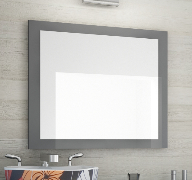Neu spiegel graphit 70x60 direkt vom hersteller ebay for Spiegel 70x60
