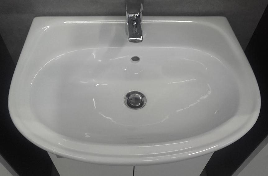 waschbecken mit unterschrank waschtisch badm belset 55cm. Black Bedroom Furniture Sets. Home Design Ideas