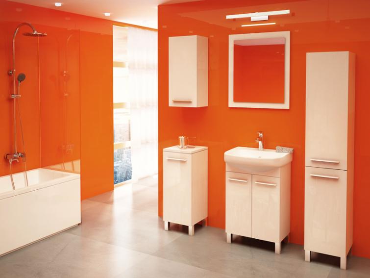 bolonia 55 wei hochglanz waschbecken mit unterschrank hersteller ebay. Black Bedroom Furniture Sets. Home Design Ideas