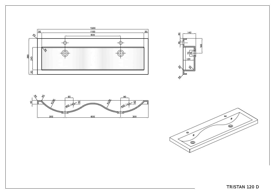 doppelwaschtisch waschbeckenunterschrank 120 badm bel set hochglanz lackiert ebay. Black Bedroom Furniture Sets. Home Design Ideas
