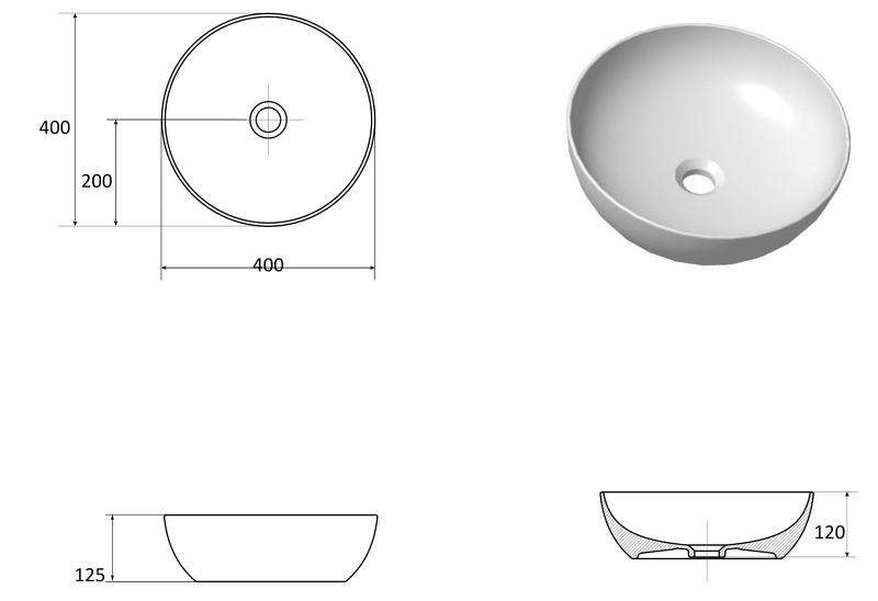 aufsatzwaschbecken mit waschtischunterschrank mit platte. Black Bedroom Furniture Sets. Home Design Ideas